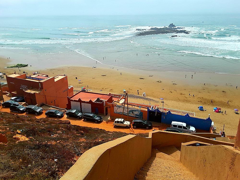 Legzira najpiękniejsza plaża Maroka