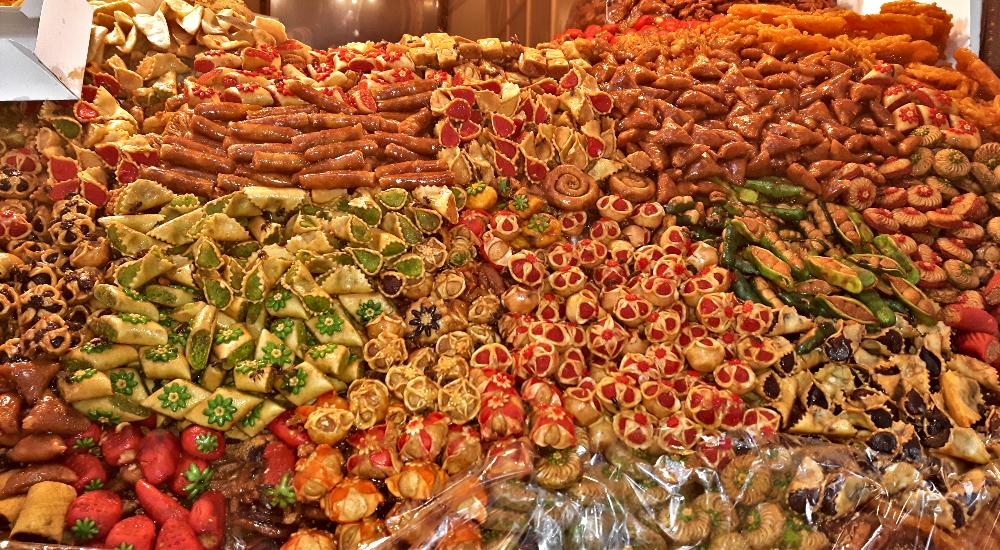 słodycze z Maroka