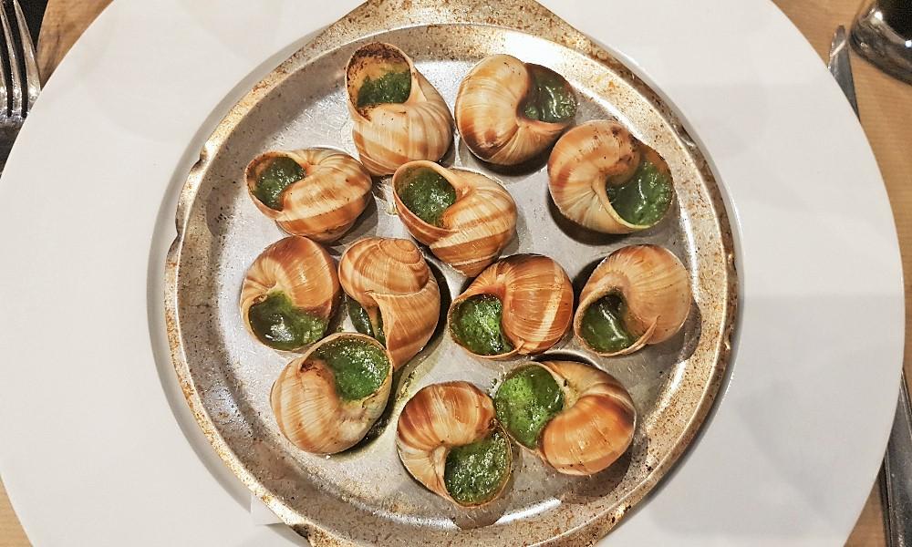 ślimaki - kuchnia francuska