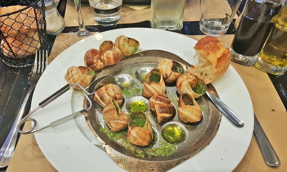 ślimaki - Francja