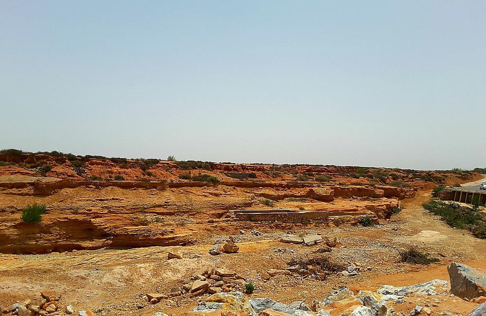 południe Maroka - pustynny krajobraz